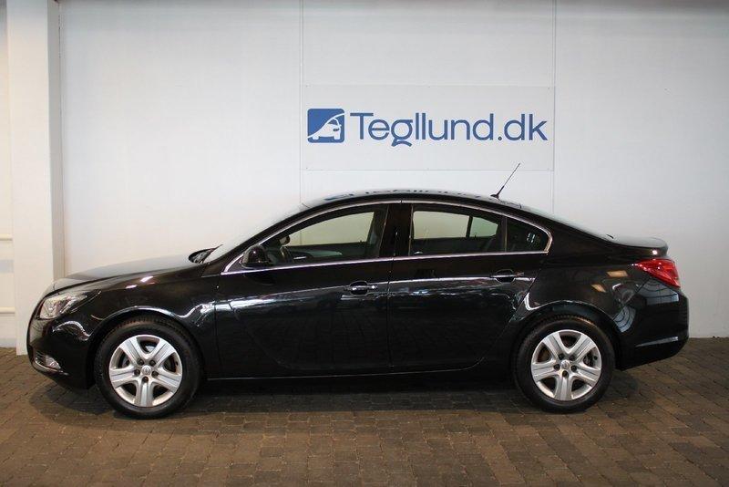 Solgt Opel Insignia Edition, brugt 2011, km 60.000 i Vejle