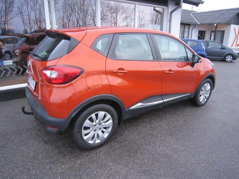 Solgt Renault Captur 1,5 dCi 90 Exp., brugt 2013, km 96.000 i Thisted