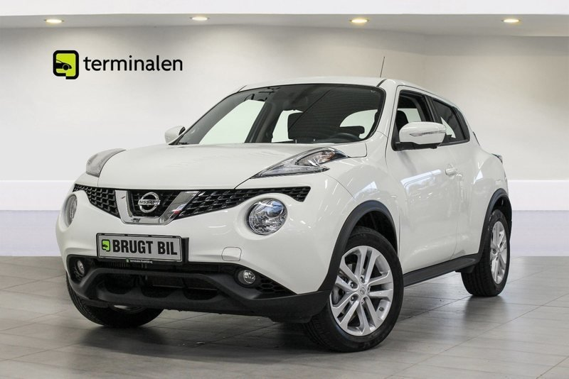 solgt nissan juke 1 5 dci 110 acenta brugt 2016 km 25. Black Bedroom Furniture Sets. Home Design Ideas
