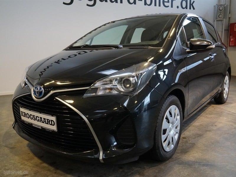 Solgt Toyota Yaris Hybrid 1,5 B/EL ., brugt 2015, km 60.222 i Hovedstaden