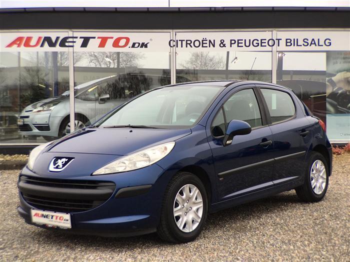 brugt Peugeot 207 1,4 i 16v Comfort Plus 88HK 5d