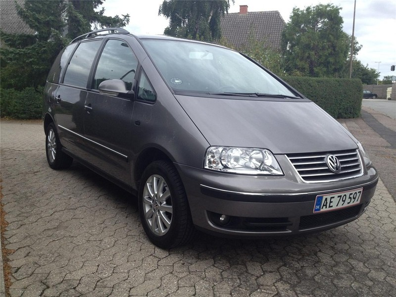 solgt vw sharan 2 0 tdi 140 sportli brugt 2008 km i slagelse. Black Bedroom Furniture Sets. Home Design Ideas
