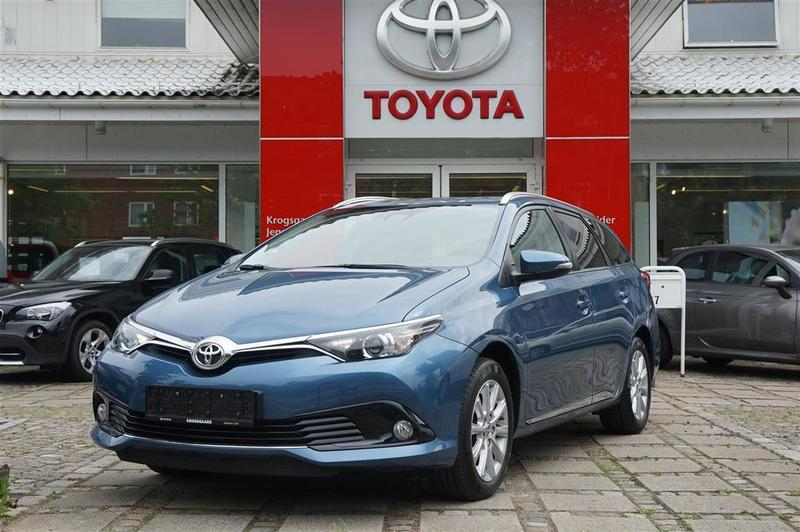 brugt Toyota Auris Touring Sports 1,2 T T2 Comfort 115HK Stc 6g