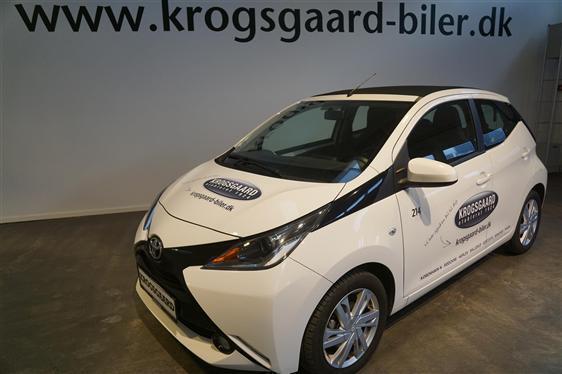 Solgt Toyota Aygo 1,0 VVT-I X-Wave ., brugt 2016, km 6.500 i Hovedstaden