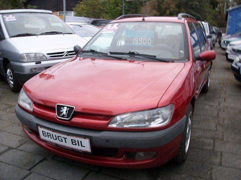 Solgt Peugeot 306 2,0 XS st.car, brugt 1998, km 225.000 i Herlev