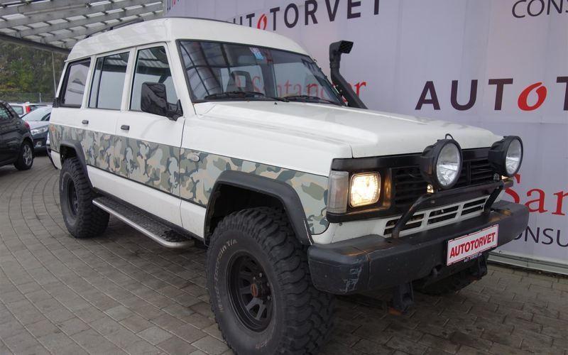 brugt Nissan Patrol 2,8 TDi GR SE 9 personers 129HK 5d