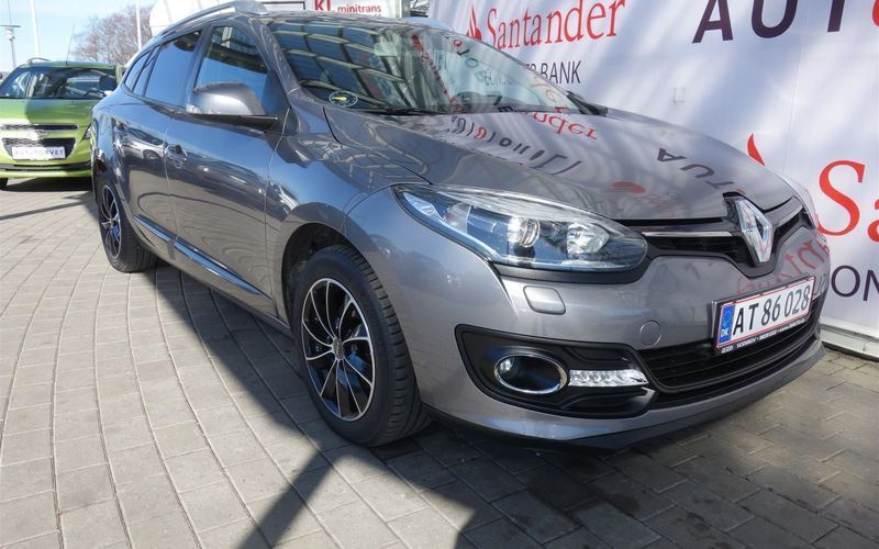 brugt Renault Mégane Sport Tourer 1,5 DCI Limited Energy 110HK Stc 6g