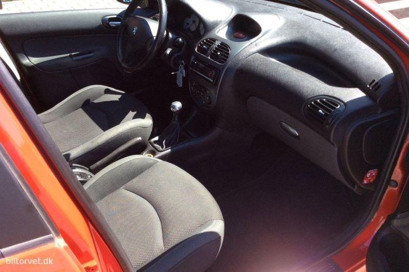 Solgt Peugeot 206 1,4 HDI Comfort P., brugt 2008, km 103.000 i Slagelse