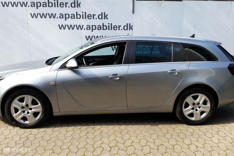 brugt Opel Insignia 2.0 CDTI Eco FLEX Sports Tourer Edition 6g 5d