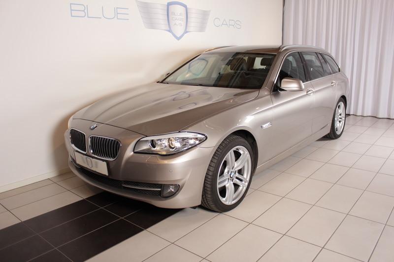 brugt BMW 520 2,0 5-Serie d Touring Steptronic Efficient Dynamics 184HK st.car aut