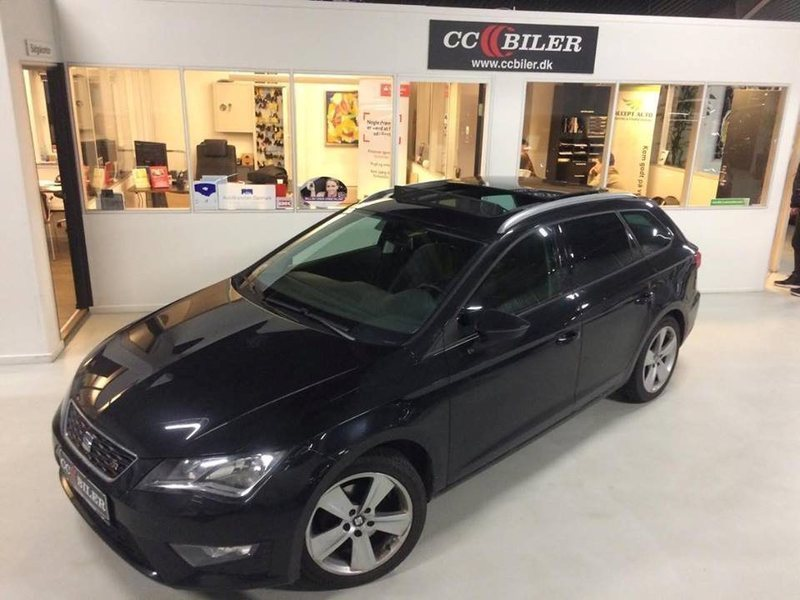 solgt seat leon st 1 4 tsi 150 fr brugt 2014 km i fredericia. Black Bedroom Furniture Sets. Home Design Ideas