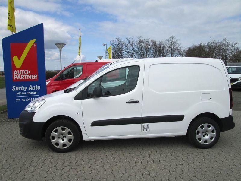 brugt Peugeot Partner L1 1,6 BlueHDi 100HK Van