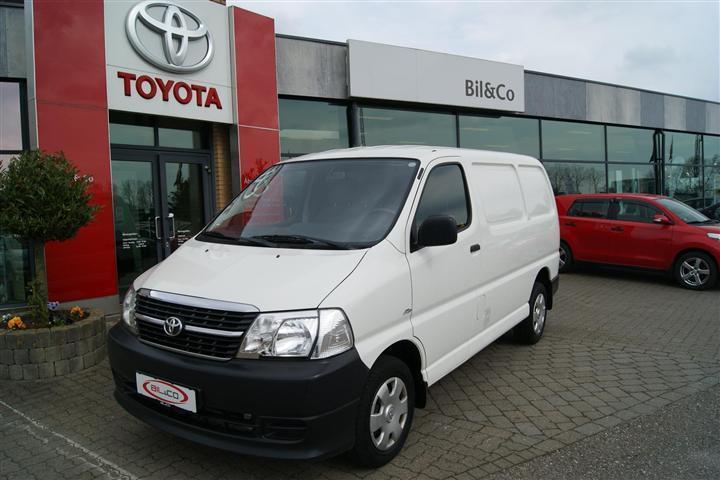 brugt Toyota HiAce Kort 2,5 D-4D u/komf. 95HK Van
