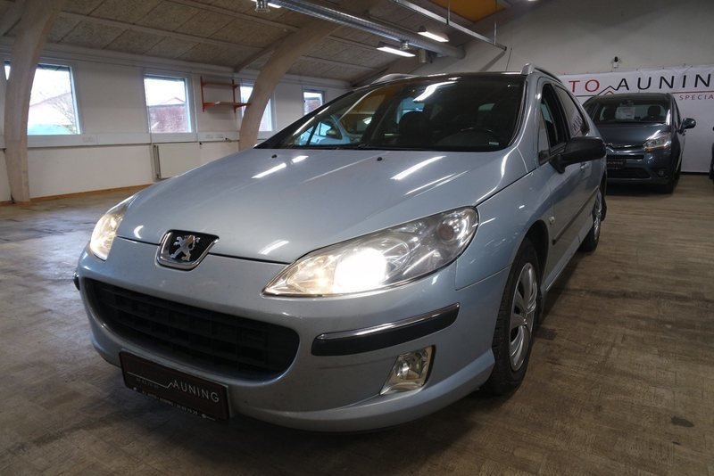 solgt peugeot 407 2 0 hdi st sw brugt 2005 km i auning. Black Bedroom Furniture Sets. Home Design Ideas