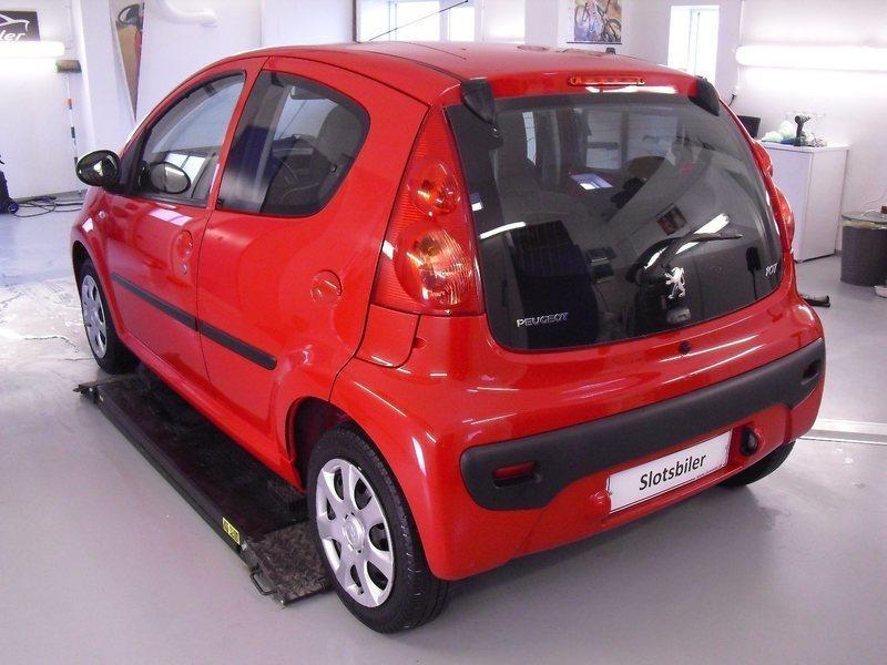 Solgt Peugeot 107 1,0 Active, brugt 2011, km 66.000 i Slagelse