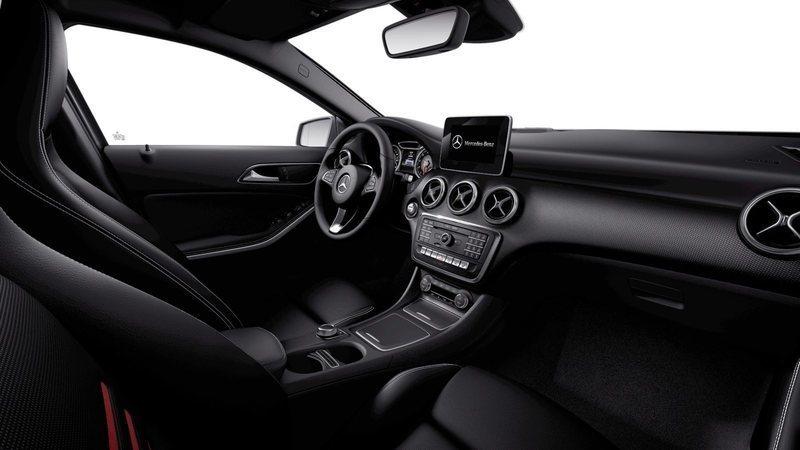 Solgt Mercedes A200 1,6 Edition aut., brugt 2018, km 14.000 i Roskilde