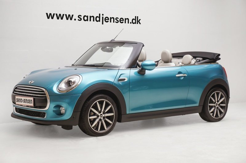 solgt mini cooper cabriolet 1 5 136 brugt 2016 km i silkeborg. Black Bedroom Furniture Sets. Home Design Ideas