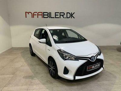 brugt Toyota Yaris Hybrid 1,5 VVT-I Hybrid E-CVT 100HK 5d Aut.