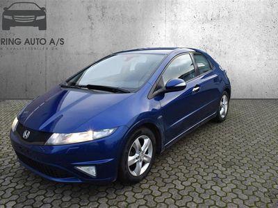 brugt Honda Civic 1,8 Sport 140HK 5d 6g - Personbil - Blå