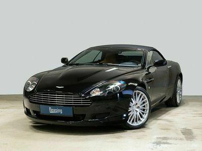 brugt Aston Martin DB9 6,0 Volante aut.