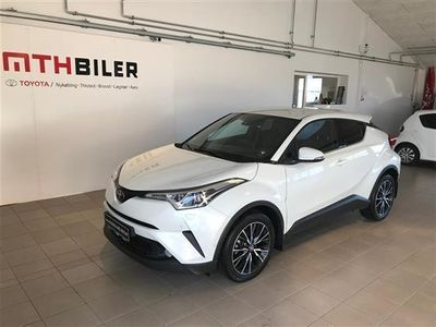 second-hand Toyota C-HR 1,2 T C-HIC 116HK 5d 6g