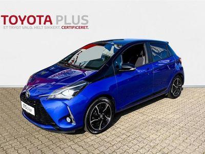 brugt Toyota Yaris 1,5 VVT-I Flavour BLÅ 111HK 5d 6g
