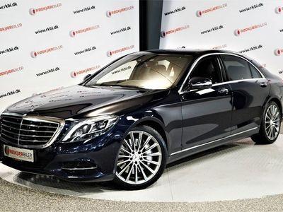 brugt Mercedes S500 3,0 Hybrid aut. lang