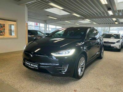 brugt Tesla Model X 75D 6prs