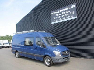 brugt Mercedes Sprinter Kasse-/Mandskabsvogn R3 2,2 D 316 CDI 163HK Van 2013