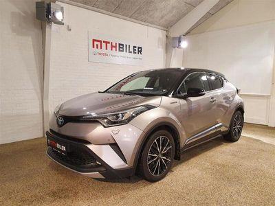 brugt Toyota C-HR 1,8 B/EL C-ULT Smart - Sound - LED Multidrive S 122HK 5d Aut.