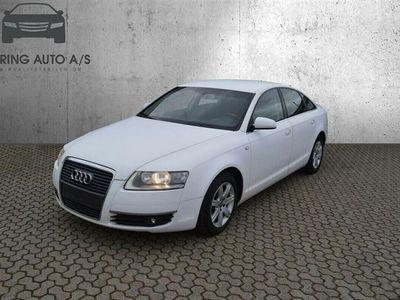 brugt Audi A6 2,4 177HK Stc - Personbil - Hvid