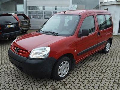 gebraucht Peugeot Partner X-Line 1,4 75HK - Personbil - rød