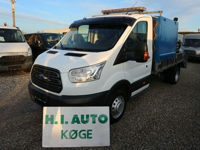 brugt Ford Transit 470 L3 Chassis 2,2 TDCi 155 Ambiente H1 RWD