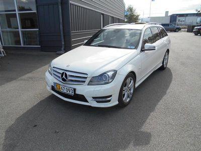 brugt Mercedes C200 T 2,0 CDI BlueEfficiency 136HK Van 7g Aut.