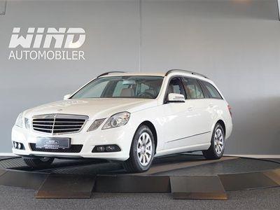 używany Mercedes E200 2,1 CDI BlueEfficiency 136HK Stc 6g