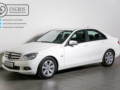 brugt Mercedes C200 2,2 CDi BE