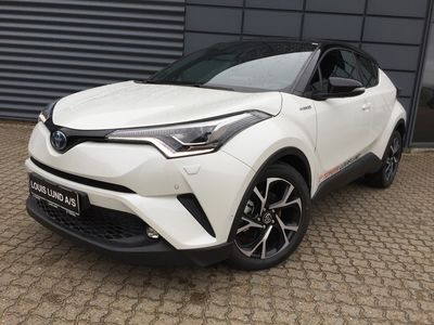 brugt Toyota C-HR 1.8 Hybrid C-LUB Premium Selected Bitone A++