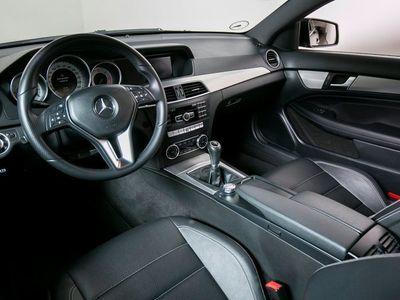 brugt Mercedes C220 2,2 CDi Coupé BE