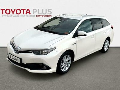 brugt Toyota Auris Touring Sports 1,8 Hybrid H2 Comfort Safety Sense 136HK Stc Aut.