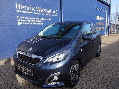 brugt Peugeot 108 1,0 e-Vti More+ 69HK 5d A++