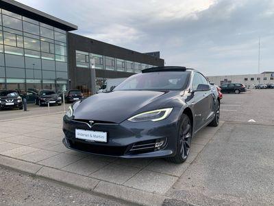 brugt Tesla Model S P100D el EL Ludicrous AWD 598HK 5d