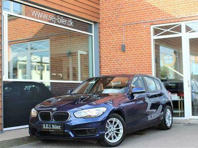 brugt BMW 118 d 2,0 D Steptronic 150HK 5d 8g Aut. A+