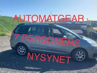 brugt Citroën C4 Picasso 1,6 HDI 7 personers