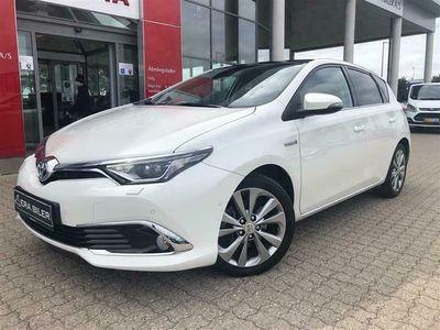 brugt Toyota Auris 1,8 Hybrid H4 Safety Sense 136HK 5d Aut.