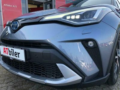 brugt Toyota C-HR 1,8 B/EL C-LUB Premium Alcantara Multidrive S 122HK 5d Aut.