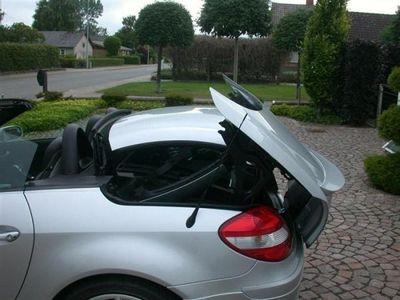 brugt Mercedes SLK200 Kompressor aut. 163HK Cabr.