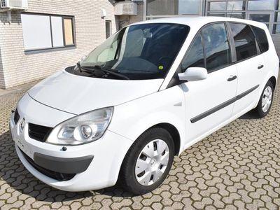 brugt Renault Grand Scénic 1,9 DCI FAP Expression 130HK 6g - Personbil - Hvid