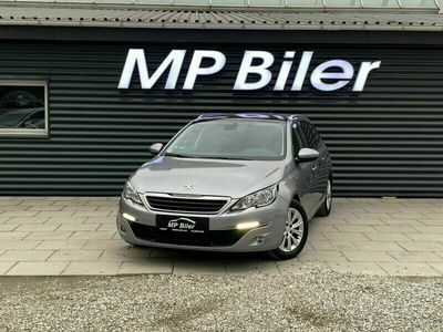 brugt Peugeot 308 1,6 BlueHDi 120 Style Limited SW