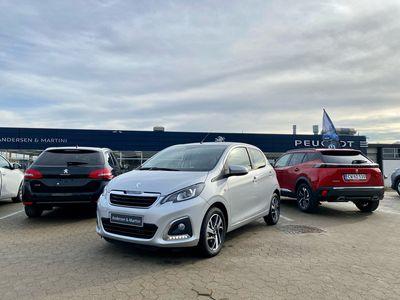 brugt Peugeot 108 1,0 e-Vti Edition 210+ 72HK 5d