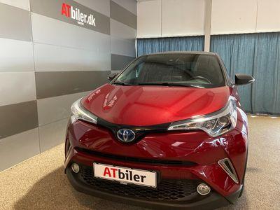 brugt Toyota C-HR 1,8 Hybrid Selected Bi-tone Multidrive S 122HK 5d Aut. A+++